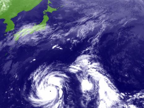 Fukushima: Outro TUFÃO ainda mais FORTE desloca-se para o Japão! Isso não parece ser normal!